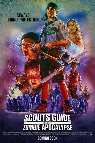 Scout's Guide to the Zombie Apocalypse [2015] [DVDR] [NTSC] [Latino]