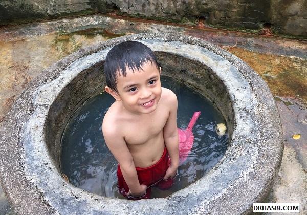 tempat menarik kolam air panas selayang