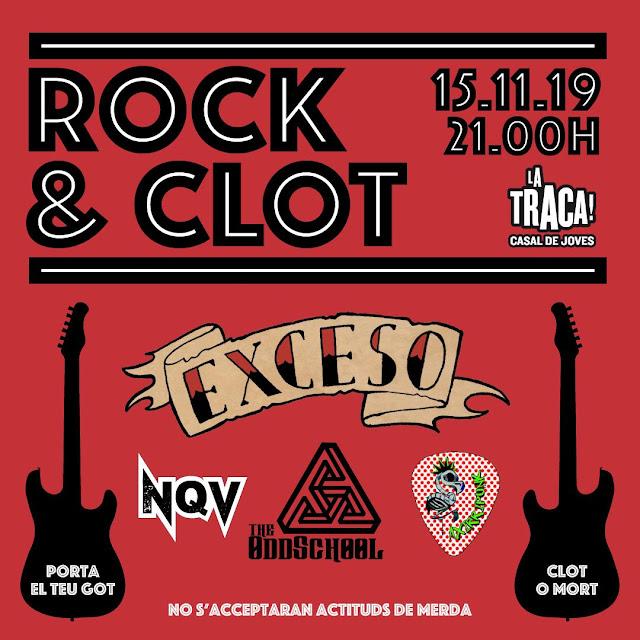 ROCK AND CLOT DE BARCELONA
