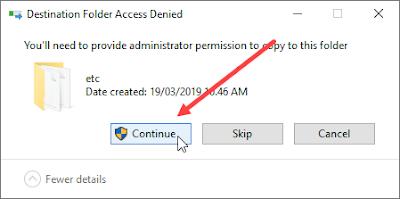 cara restore file hosts