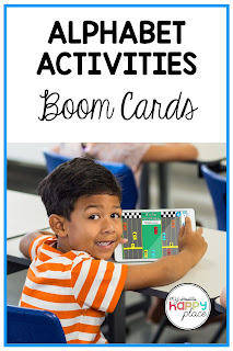 Letter Activities Bundle for Boom Cards Literacy Center
