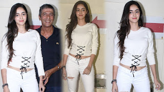 Ananya pandey father