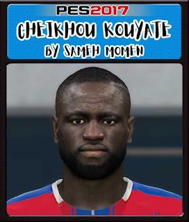 PES 2017 Cheikhou Kouyaté Face by Sameh Momen