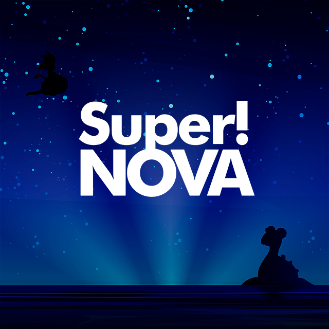 Imagen con el logotipo de Super!NOVA Eurobeat