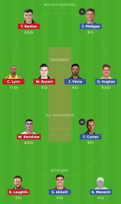 HEA vs SIX dream 11 team | SIX vs HEA