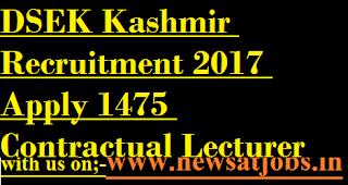 DSEK-Kashmir-jobs-Apply-1475-Contractual-Lecturer-Posts