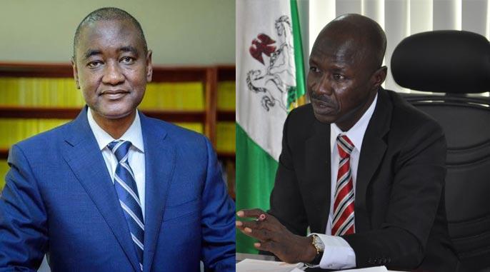 Magu should keep quiet - Nigeria Bar Association blasts EFCC boss