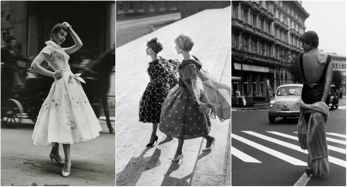 Fashion Photography By Federico Garolla In The 1950s Through