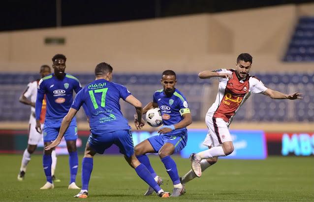 نتائج الجولة 15 من الدوري السعودي للمحترفين 2021
