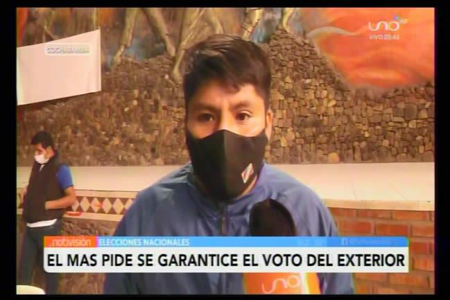 Loza: El MAS exigirá que se garantice el voto de los bolivianos en el exterior