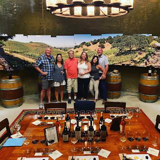 Wine Tasting at Porter Family Vineyards