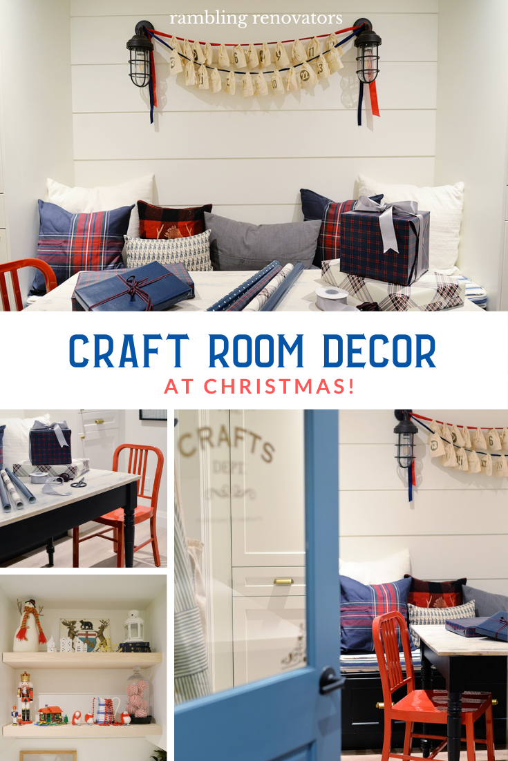 Craft Room Decor At Christmas Rambling Renovators