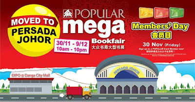 POPULAR MEGA BOOK FAIR @PERSDA JOHOR