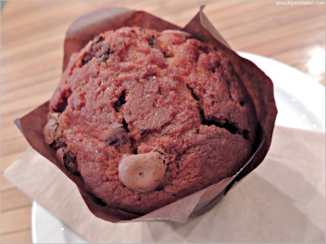 Muffin en la Cafetería Nektar Cafeologue en Quebec