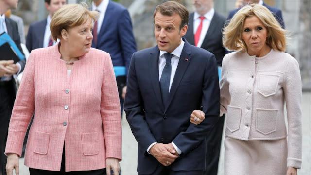 Merkel: Ya pasó el tiempo en que Europa podía confiar en EEUU