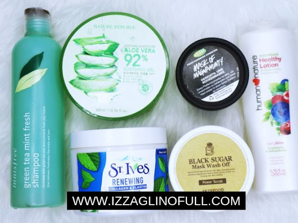 Product Empties 2019 (Innisfree, Lush, Skinfood, etc.)