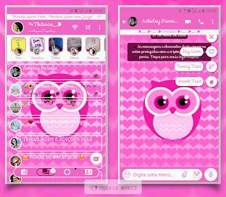 Owl Theme For YOWhatsApp & Km WhatsApp By Thania