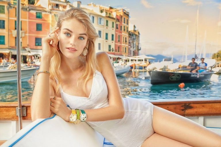 Willow Hand fronts Dolce & Gabbana Watches + Jewelry spring-summer 2019 campaign