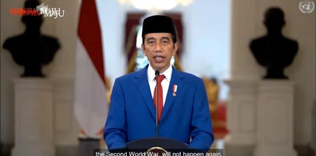 Jokowi: Indonesia Tak Akan Meninggalkan Satu Negara Mana Pun
