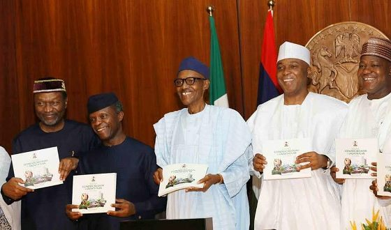 President Buhari launches the Economic Recovery and Growth Plan