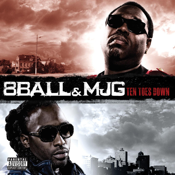 8Ball & MJG - Ten Toes Down  Cover