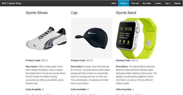 Contoh Program eCommerce Sport Shop Dengan PHP