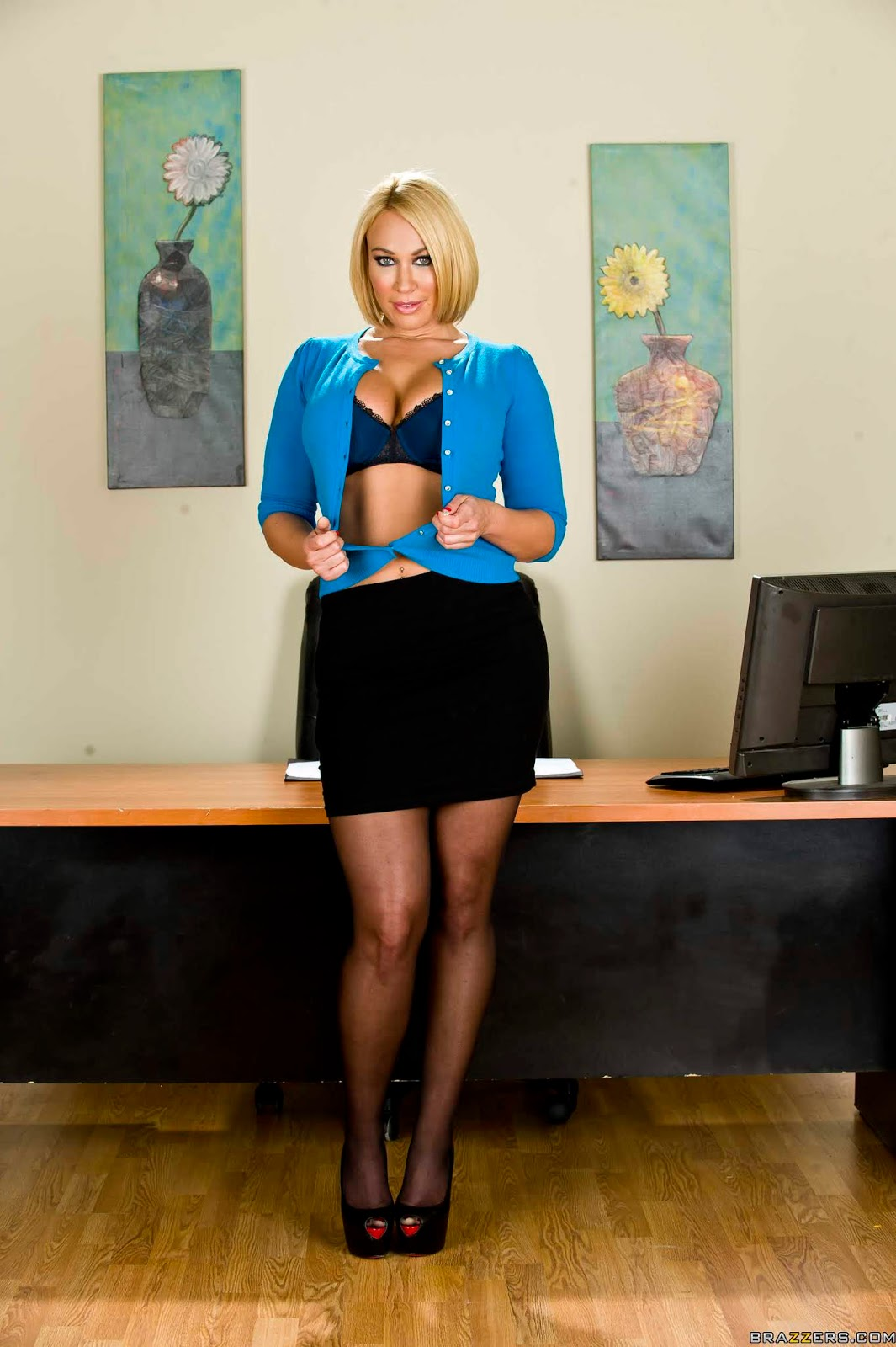 Mellanie Monroe : Office Snatch ## BRAZZERSf6vw1p2e7a.jpg