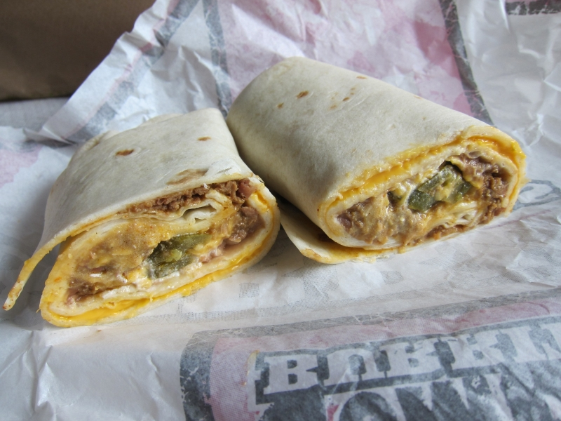 Bean And Cheese Burrito Del Taco Review: Del Taco - Fie...