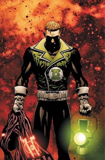 Guy Gardner es un superhéroe y Green Lantern de DC Comics