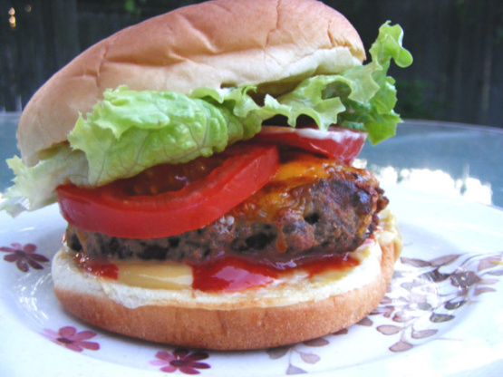 How to Make Loaded Burgers American Style