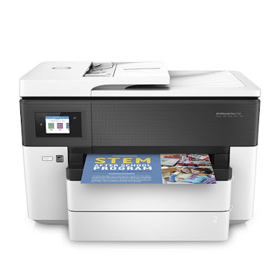 Easily alter the size of the newspaper tray HP OfficeJet Pro 7730 Driver Downloads