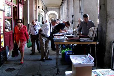 Foto Rubén Vique em Wikimedia - Matéria Plaza Mayor - BLOG LUGARES DE MEMÓRIA