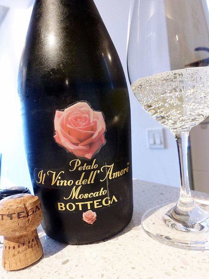 Bottega Petalo Il Vino dell'Amore Moscato (87 pts)