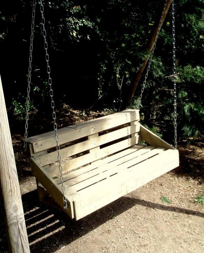 Source 50 DIY Pallet Swing