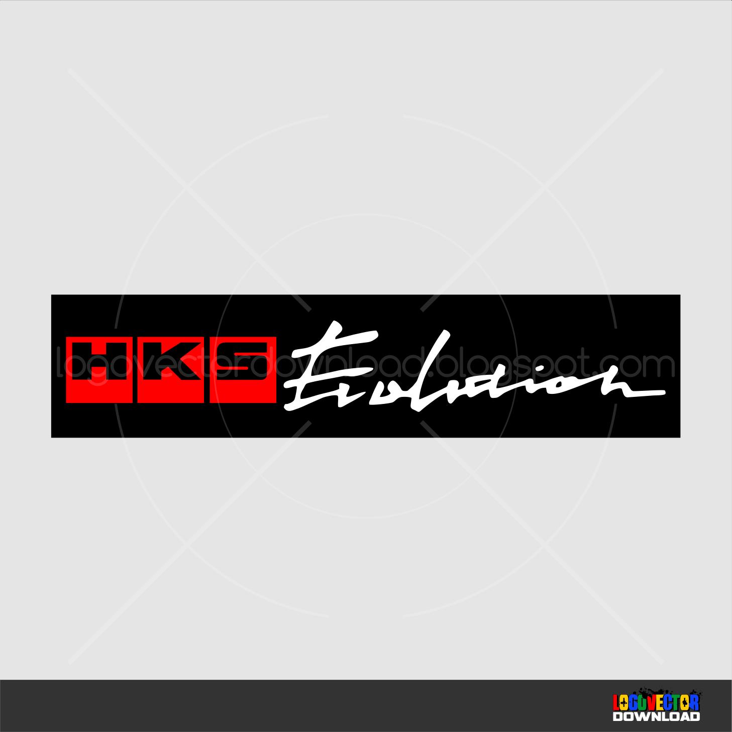 HKS Evolution Logo  freebiesupplycom