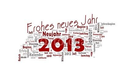 Deutsch als Fremdsprache: Frohes Neues Jahr 2013!
