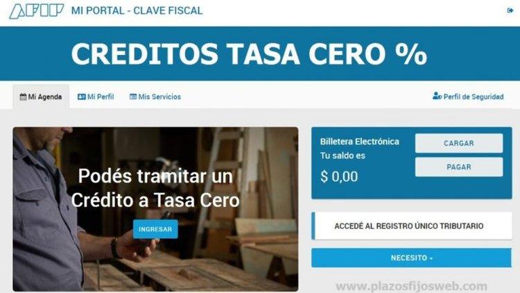 Créditos a tasa 0, facilitan el acceso para sumar a 270.000 nuevos beneficiarios