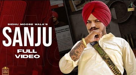 Sanju Video Song by Sidhu Moose Wala | Sanju Lyrics | Sanjay Dutt