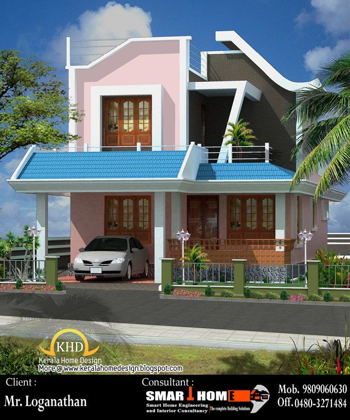 June 2011 kerala home design and floor plans for Smarter small home