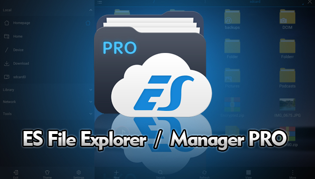 Downlaod Gratis ES File Explorer/Manager PRO Apk Cracked Terbaru 2016