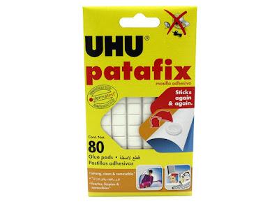 Uhu patafix masilla adhesiva reutilizable ideal para coleccionistas de minerales
