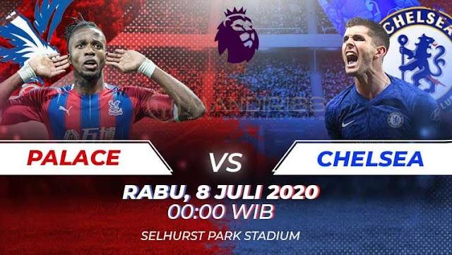 Prediksi Crystal Palace Vs Chelsea, Rabu 08 Juli 2020 Pukul 00.00 WIB @ Mola TV