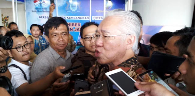 Ditanya Impor, Menteri Enggar Malah Tanya Balik Identitas Wartawan