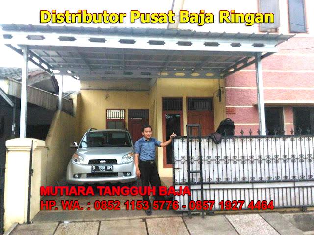 Distributor Kanopi Baja Ringan Jakarta Paling Murah dan