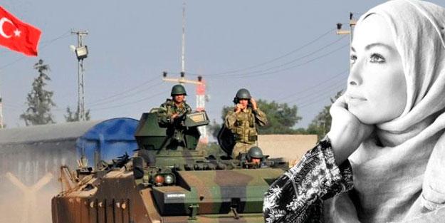 Gamze Özçelik'ten alkışlanacak Barış Pınarı Harekatı paylaşımı..