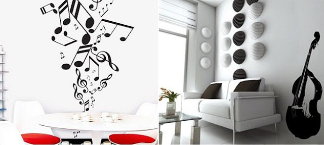 Decoration With Musical Inspiration 8