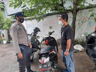 Wujudkan Pilkada Damai dan Aman dari Covid-19, Bhabinkamtibmas Ende Imbau Prokes
