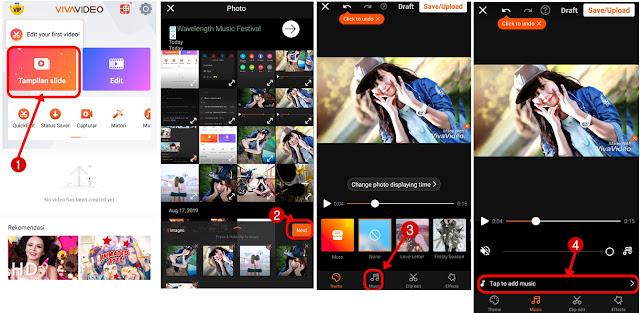 aplikasi penggabung foto dan lagu