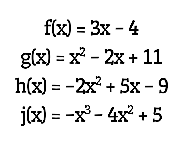 Math = Love: Adding and Subtracting Polynomials in
