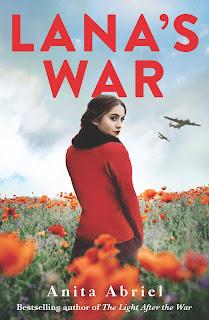 Lana's War by Anita Abriel book cover